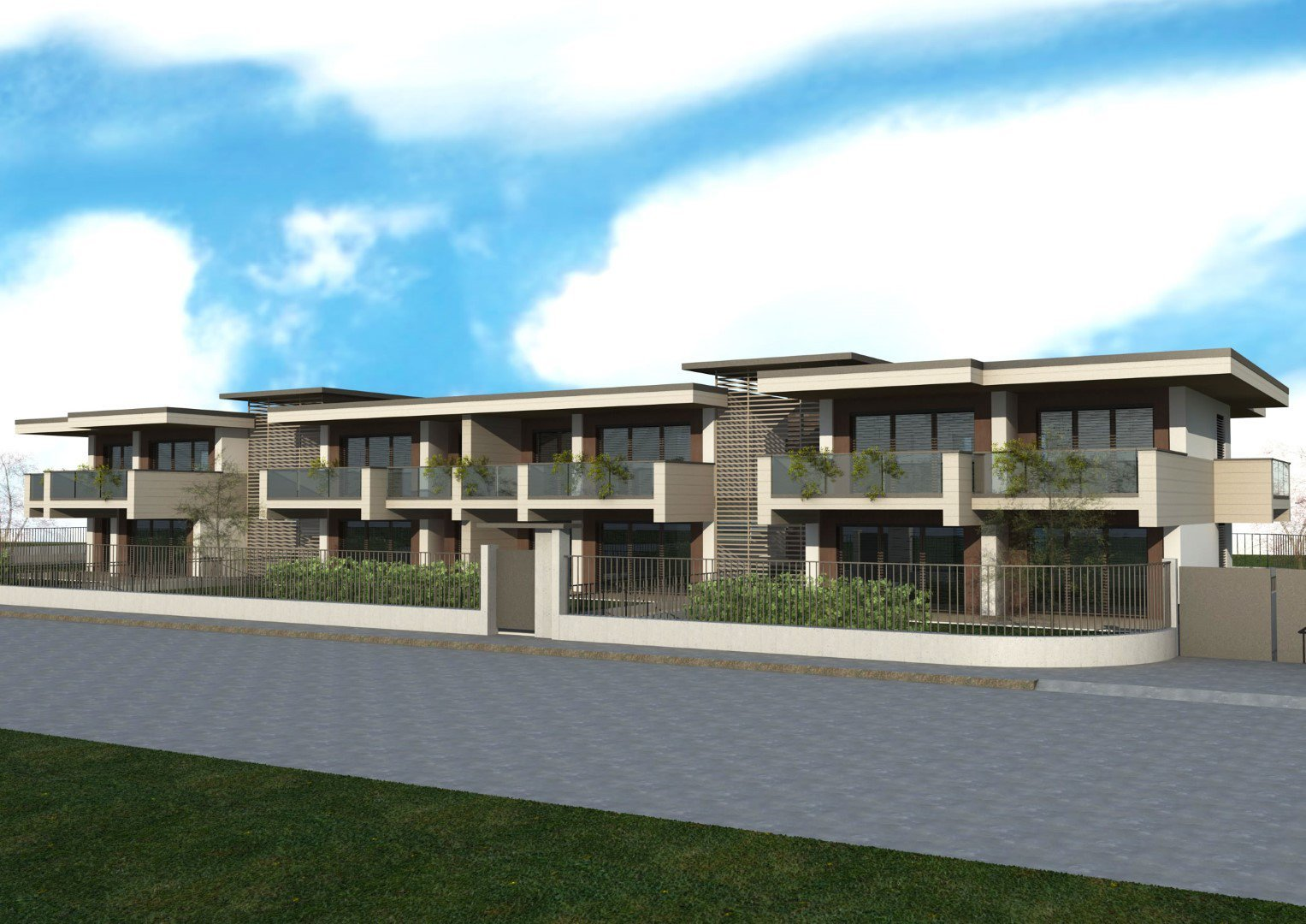 Cantiere TREVIOLO PANORAMIC RESIDENCE