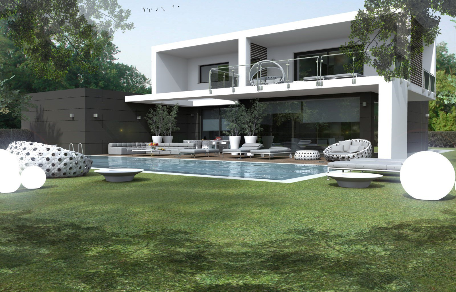 Cantiere LUXURY MODERN HOUSE TREVIOLO