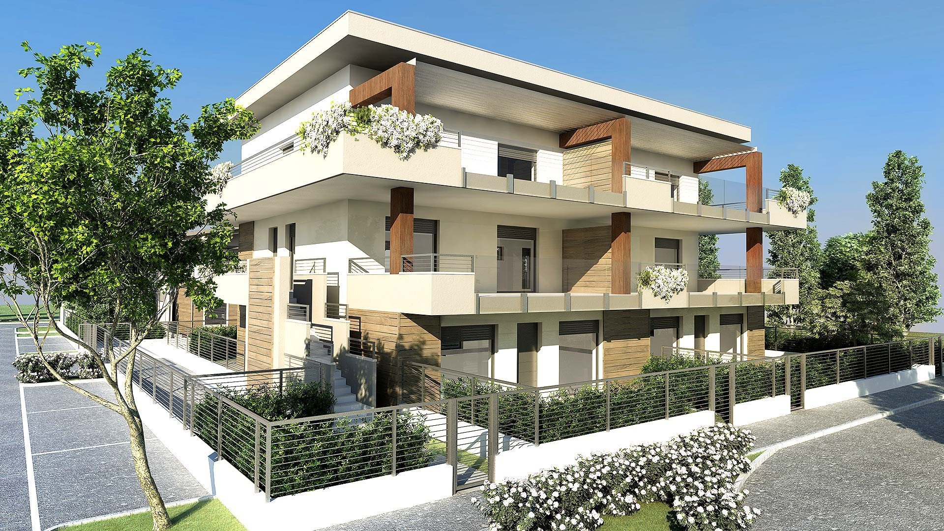 Cantiere TREVIOLO EXCLUSIVE RESIDENCE