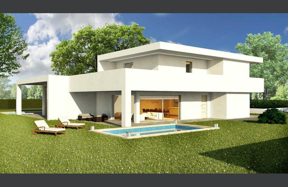 Nuova costruzione vendita villa bifamiliare cantiere for Progetto ville moderne nuova costruzione